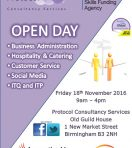 Recruitment Open Day – Protocol Consultancy Services Friday 18th November
