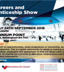 Birmingham and Solihull Apprenticeship Show – 24th September 2016